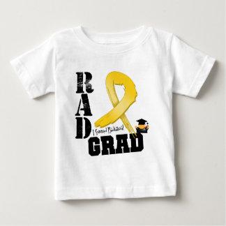 Graduado del RAD de la radioterapia del cáncer de Playera Para Bebé