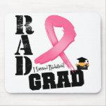 Graduado del RAD de la radioterapia del cáncer de  Alfombrillas De Ratón