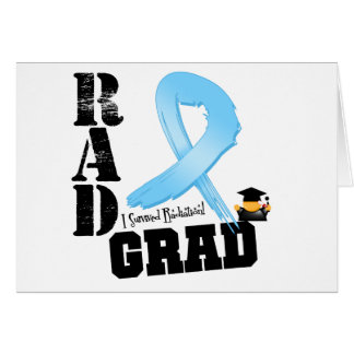 Graduado del RAD de la radioterapia del cáncer de  Tarjeta De Felicitación