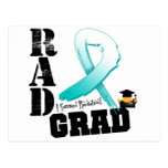 Graduado del RAD de la radioterapia del cáncer de  Tarjeta Postal