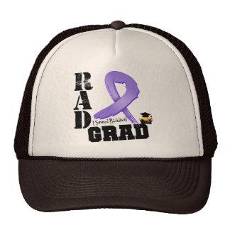 Graduado del RAD de la radioterapia del linfoma de Gorras