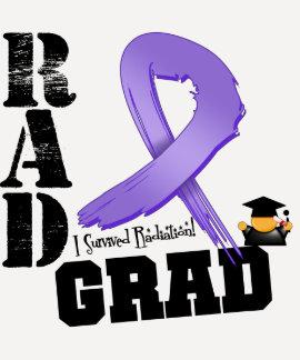Graduado del RAD de la radioterapia del linfoma de Playera