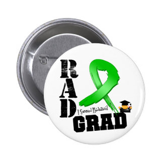 Graduado del RAD del cáncer del riñón (cinta verde Pins