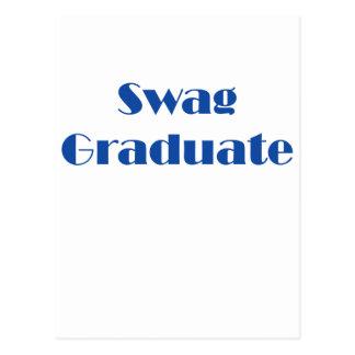 ¡Graduado del Swag! Tarjetas Postales
