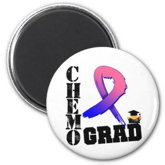Graduado masculino de Chemo del cáncer de pecho Imán Redondo 5 Cm