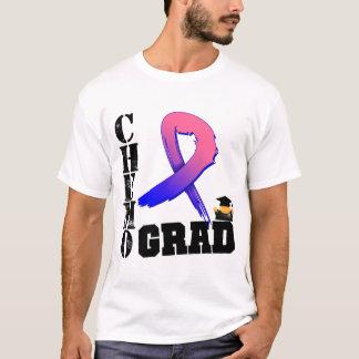 Graduado masculino de Chemo del cáncer de pecho Playera