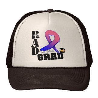 Graduado masculino del RAD de la radioterapia del  Gorro De Camionero