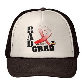 Graduado oral del RAD de la radioterapia del cánce Gorro
