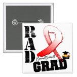 Graduado oral del RAD de la radioterapia del cánce Pin