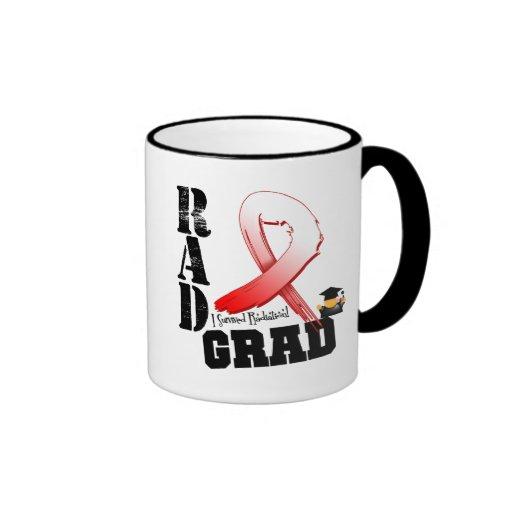 Graduado oral del RAD de la radioterapia del cánce Taza