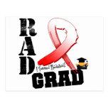 Graduado oral del RAD de la radioterapia del Postal