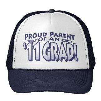 Graduado orgulloso 2011 del padre gorro
