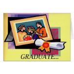 Graduado… Tarjeta de la enhorabuena
