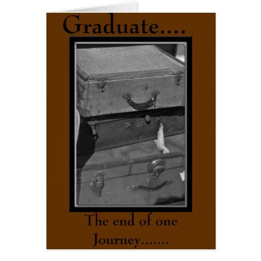 Graduado,… tarjeta - modificada para requisitos pa
