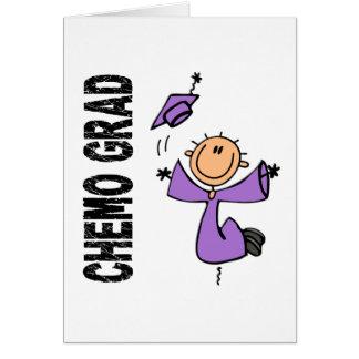 GRADUADO violeta 1 (linfoma de CHEMO de Hodgkins) Tarjeta