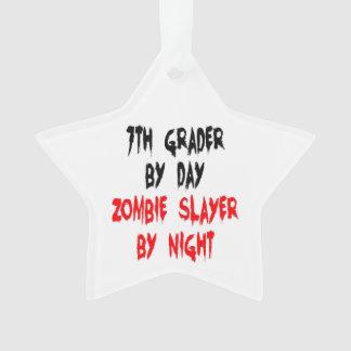 Graduador del séptimo del asesino del zombi