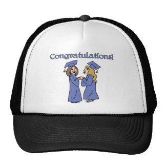 ¡Graduados de la enhorabuena! Gorras De Camionero
