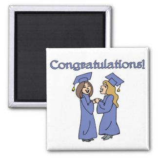 ¡Graduados de la enhorabuena! Imanes