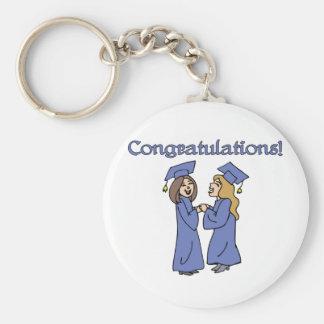¡Graduados de la enhorabuena! Llaveros Personalizados