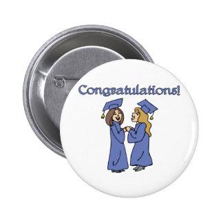 ¡Graduados de la enhorabuena! Pin