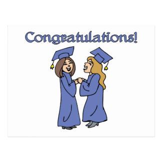 ¡Graduados de la enhorabuena! Postal