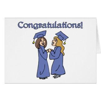 ¡Graduados de la enhorabuena! Tarjeton