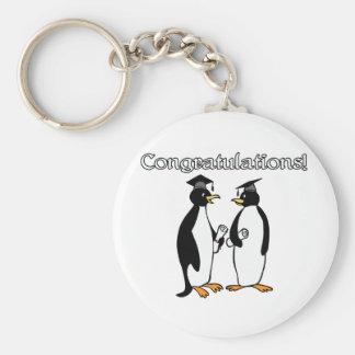 Graduados del pingüino llaveros
