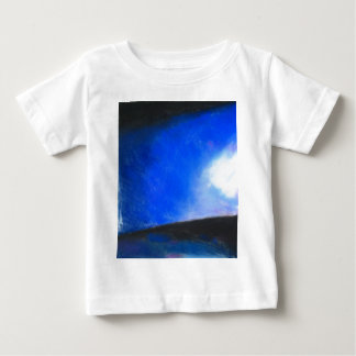 Gradual Blue ( earth symbolism painting ) Baby T-Shirt