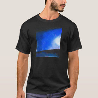 Gradual Blue ( earth symbolism painting ) T-Shirt
