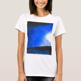 Gradual Blue ( earth symbolism painting ) T-Shirt