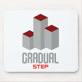gradual step mouse pad