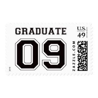 Graduate 2009 - Black Stamps