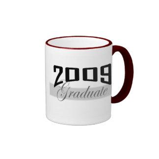 Graduate 2009 school color mug