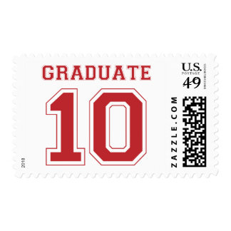 Graduate 2010 - Red Stamps