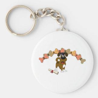 Graduate 2012 basic round button keychain