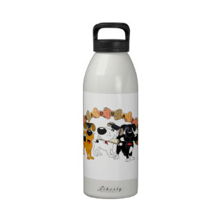 Graduate 2012 drinking bottles