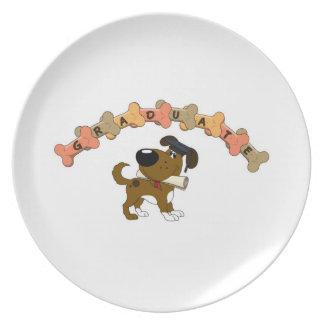 Graduate 2012 dinner plates