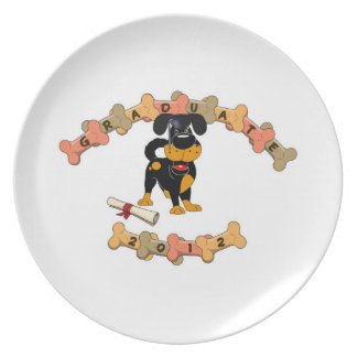 Graduate 2012 dinner plate