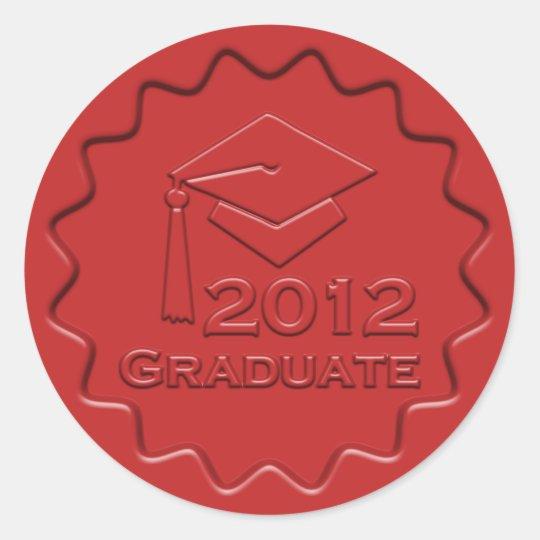 Graduate 2012 Red Wax Seal