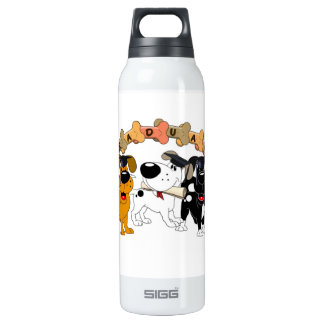 Graduate 2012 16 oz insulated SIGG thermos water bottle