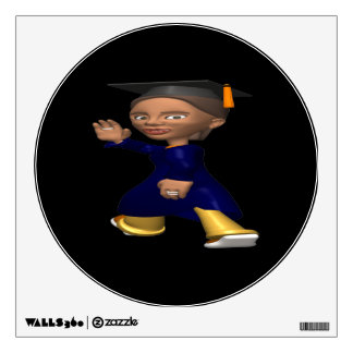 Graduate 2 wall decal