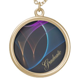 Graduate Abstract Veils Design Necklace