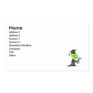 Graduate Alien Business Card