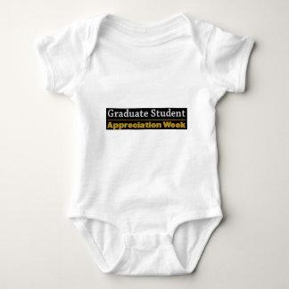 graduate appreciation week baby bodysuit