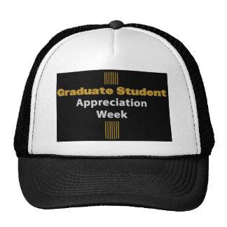 graduate appreciation week trucker hat
