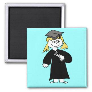 Graduate, Blonde Female Magnets