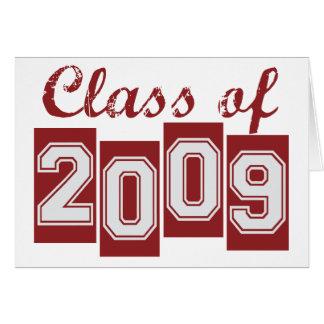 Graduate Class of 2009 Card