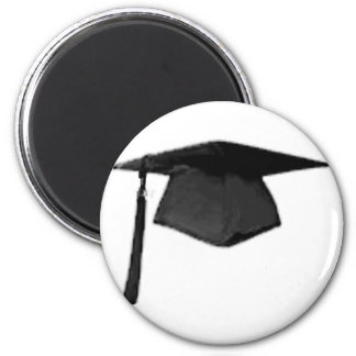Graduate Class of Cap and Gown Template2 Magnets