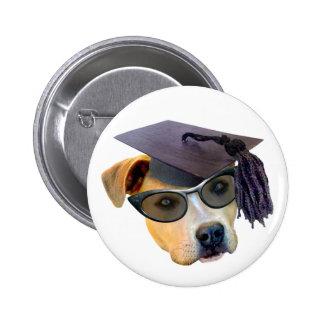 Graduate Dog Pin