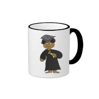Graduate, Ethnic Male Coffee Mugs